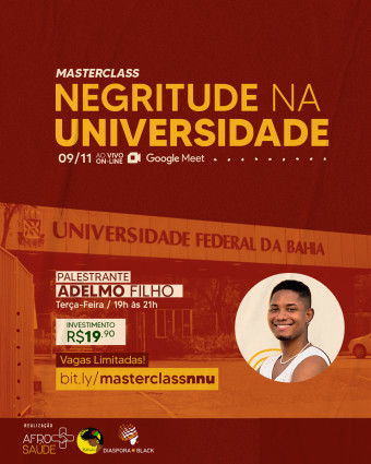 MasterClass: Negritude na Universidade